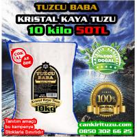 10kg GRANÜL Doğal Kristal Kaya Tuzu 84 mineralli