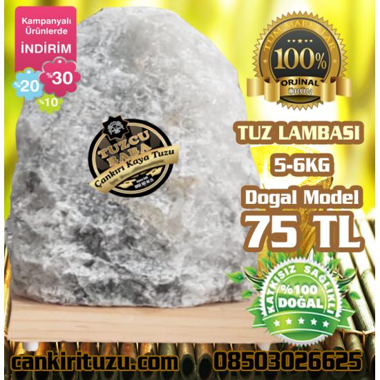 Kaya Tuzu Lamba Doğal Model 5-6 kg arası