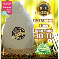 Tuz Lamba Doğal Model 2-3kg