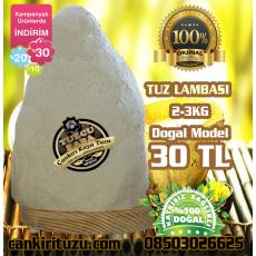 Kaya Tuzu Lambası Doğal Model 2-3kg