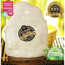 Kristal Çankırı Tuz Lamba Doğal Model 7-8 kg arası