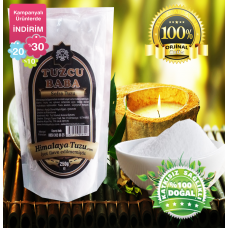 Beyaz Sofralık Himalaya Tuzu 84 mineralli  1kg (250gr X 4 paket)