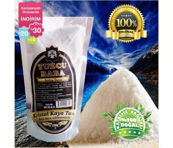 5kg Sofralık Doğal Kristal Kaya Tuzu 84 mineralli