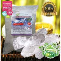 Beyaz Sole ve cep için Himalaya Tuzu  84 mineralli  1kg